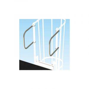 Maniglie di uscita per scale con gabbia