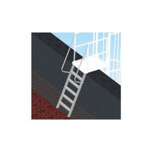 Scala di sbarco gradino 8,3 cm per scale con gabbia