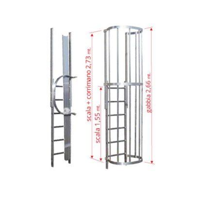 Scale con gabbia modulo finale MOT