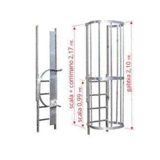 Scale con gabbia modulo finale MOTC