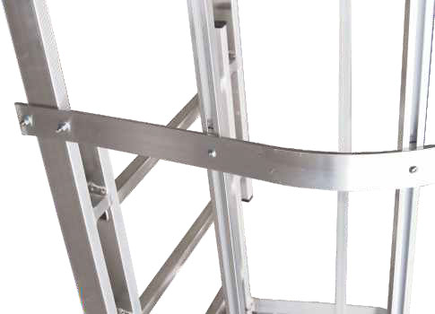Anelli di giunzione e nervature gabbia completamente regolabili e adattabili in opera