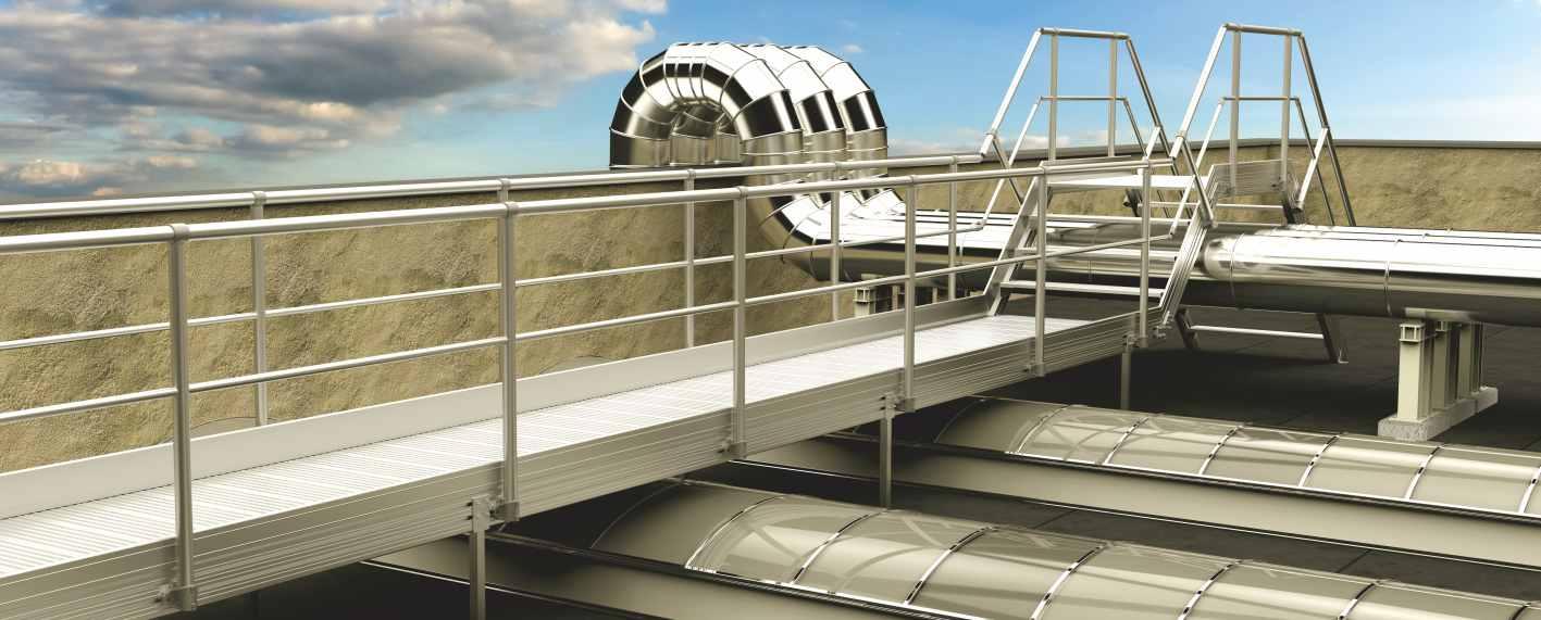 ALUWAY - Passerelle di sicurezza in alluminio