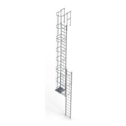 Scala con gabbia modello C