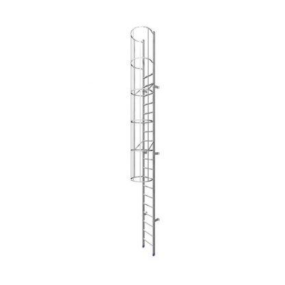 Scala con gabbia 211 tronco unico