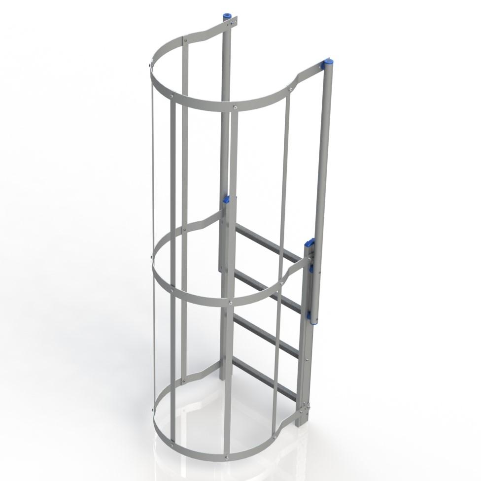 Modulo finale scala con gabbia