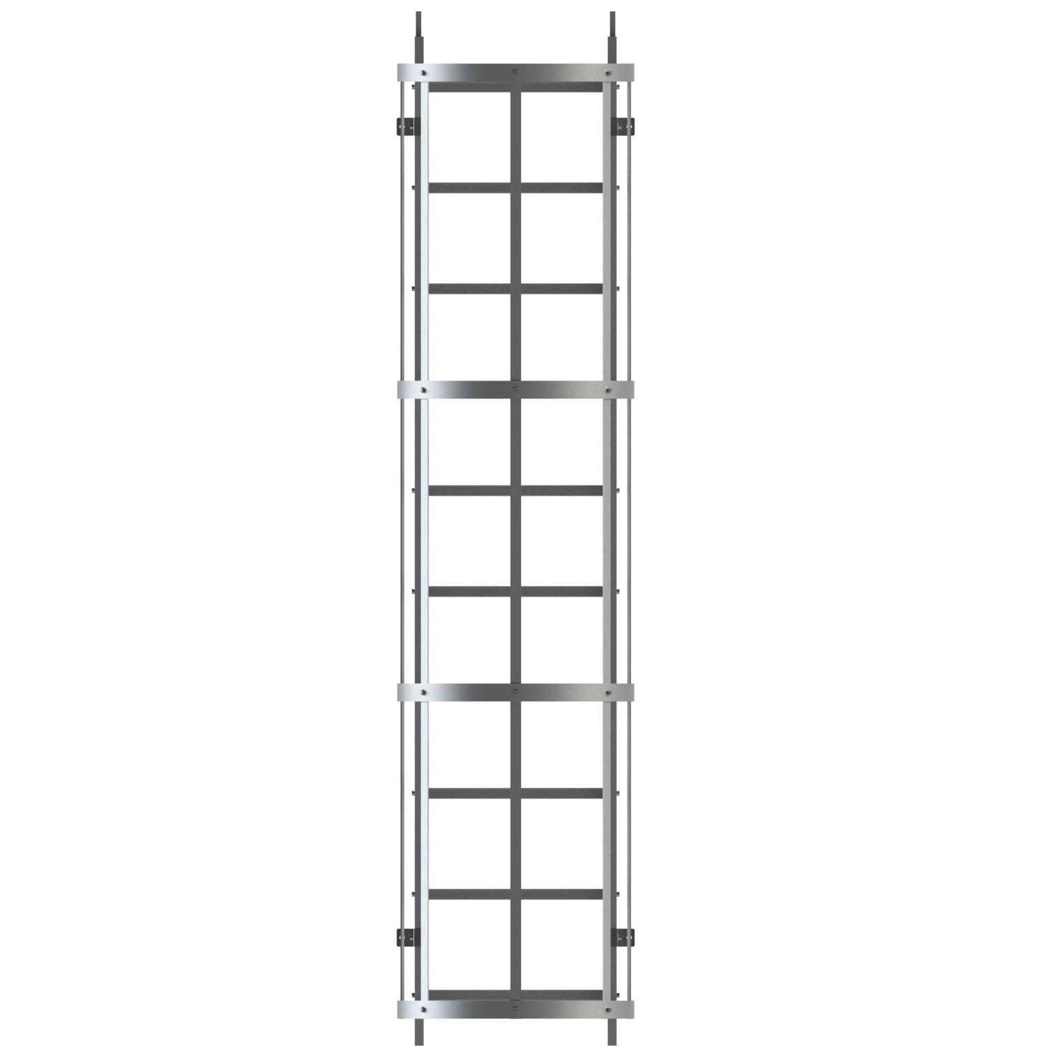 Modulo intermedio scala con gabbia