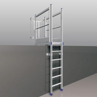 Scala verticale per piattaforma di sbarco