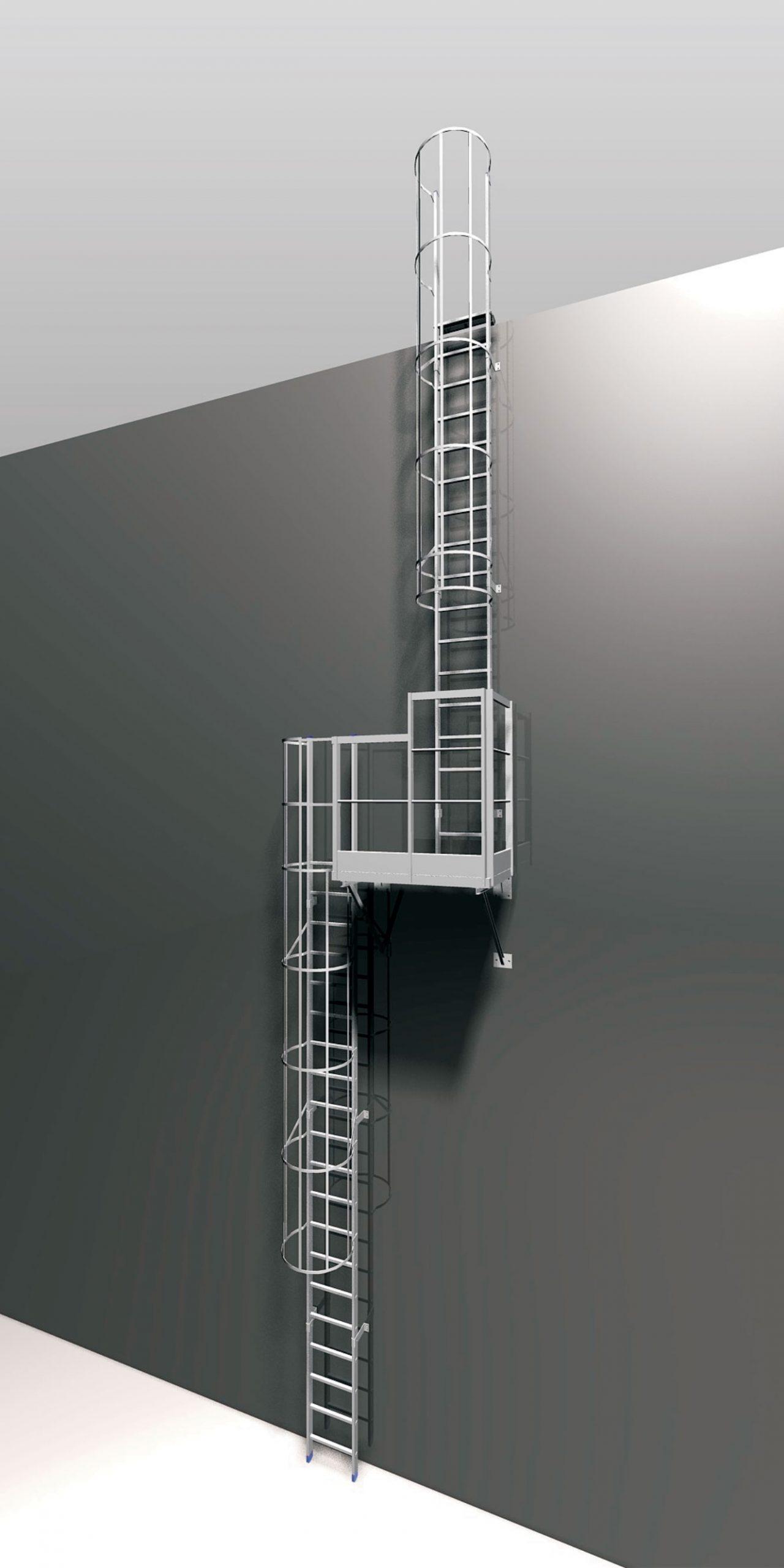 Esempio scala con sdoppiamento tronco